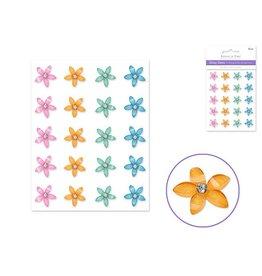MultiCraft Daisy Gems Stickers - Pastel