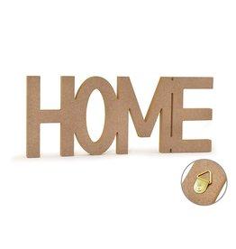 "12"" DIY Word Decor- MDF Standing - Home"