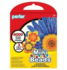 Perler Mini Beads Fused Bead Kit Flowers
