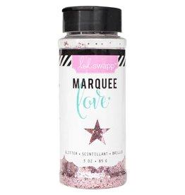 Heidi Swapp Marquee Love Chunky Glitter 3 Ounces/Jar Light Pink