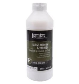 Liquitex Gloss Acrylic Fluid Medium & Varnish 16oz