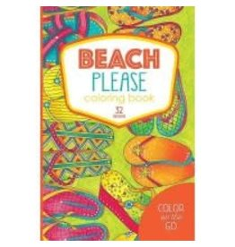 Color On The Go Beach Please Coloring Book