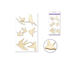 """Laser Cut Wood 4.5""""x7.7"""" ) Birds"""