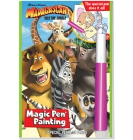 Magic Pen Painting: DreamWorks Madagscar - Into The Jungle