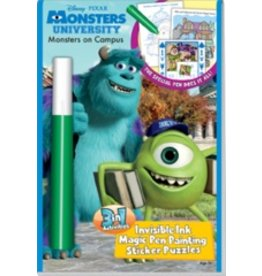 3in1: Disney/Pixar - Monsters University - Monsters on Campus