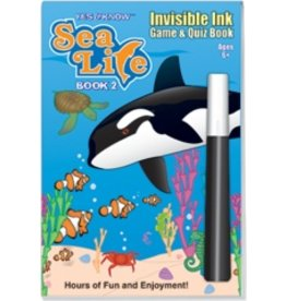 Invisible Ink: Sea Life Book 2