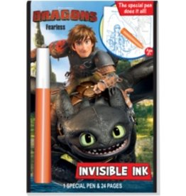 Invisible Ink: DreamWorks Dragons - Fearless