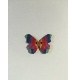 Kathy's Fiber Arts & Crafts Ltd Button Butterfly set of 4