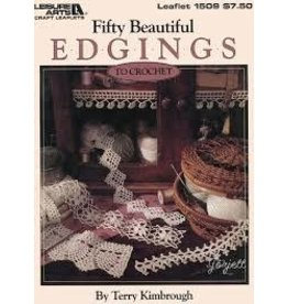 Leisure Arts FIFTY BEAUTIFUL EDGINGS *Clearance Final Sale*