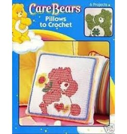 Leisure Arts CARE BEARS PILLOW TO CROCHET  *Clearance Final Sale*