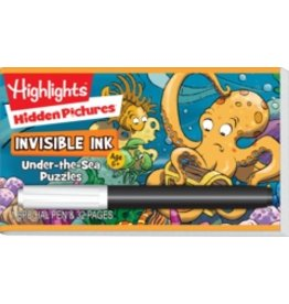 Invisible Ink: Highlights - Hidden Pictures™ Under-the-Sea Puzzles