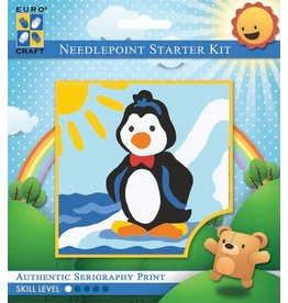 Learn to Needlepoint - Penguin