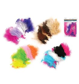 MultiCraft Feather Craft: 7g Marabou Multi-Pack Asst