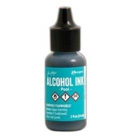 Tim Holtz Alcohol Ink, Pool