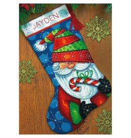 "Dimensions Dimensions 16"" Sweet Santa Stocking"