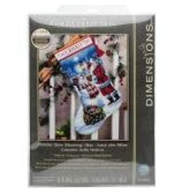 """Dimensions Dimensions Gold Collection 16"""" Holiday Glow Stocking"""