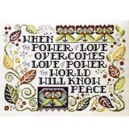 Stoney Creek The Power of Love Counted Cross Stitch Pattern