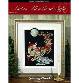 Stoney Creek And to All a Good Night Counted Cross Stitch Pattern