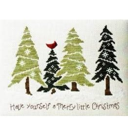 Stoney Creek Christmas in the Pines Counted Cross Stitch Pattern