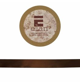 ELAN ELAN Double Face Satin Ribbon 18mm x 5m - Brown