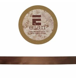 ELAN ELAN Double Face Satin Ribbon 18mm x 5m - Medium Brown