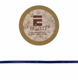 ELAN ELAN Double Face Satin Ribbon 6mm x 5m - Navy