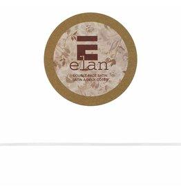 ELAN ELAN Double Face Satin Ribbon 3mm x 5m - White