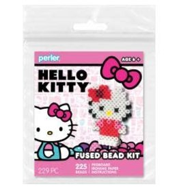 Perler Fused Bead Trial Kit Hello Kitty 3D