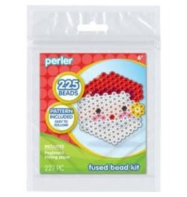 Perler Fused Bead Kit Santa