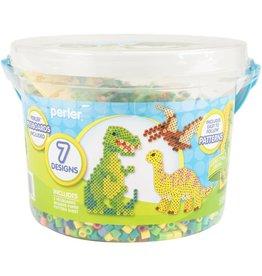 Perler Fused Bead Bucket Kit Dinosaur