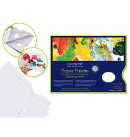 "Color Factory: Paper Palette 9""x12"" 40 Sheets w/Thumbhole 58gsm"