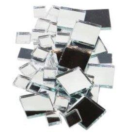 Mirrored Glass Tiles 100/Pkg Square