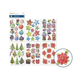 MultiCraft 3D Holiday Stickers - Holiday Icons