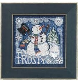 MillHill Beads Frosty Snowman - Counted Cross Stitch Kit
