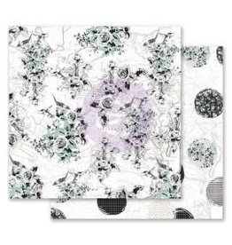 12x12 Patterned Paper, Flirty Fleur - Traveling Florals