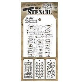 Treasuremart Mini Stencil, Set #10
