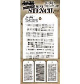 Treasuremart Mini Stencil, Set #34
