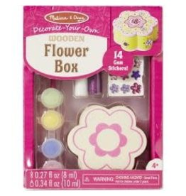 Decorate-Your-Own Wooden Chest Flower