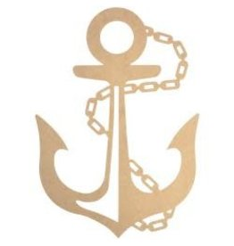 "Beyond The Page MDF Anchor Wall Art Beyond The Page MDF Anchor Wall Art 22""X15.5""X.125"""