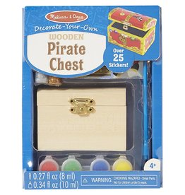 Decorate-Your-Own Wooden Chest pirate chest