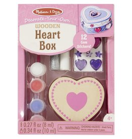 Decorate-Your-Own Heart Box
