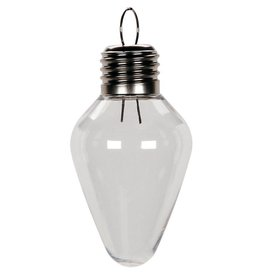 Shatterproof Ornament- Light Bulb, 100mm