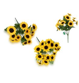 Enchanted Garden: Mini Sunflower Bush x16 Heads