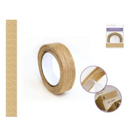 Masking Tape: 1.5cmx1.5yd Natural Burlap