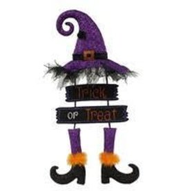 "29""H Trick Or Treat Witch Wall Decor"