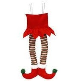 "22""H Elf Legs Decor"