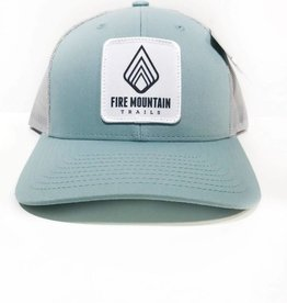 Fire Mountain Snapback Ball Cap Muted Teal