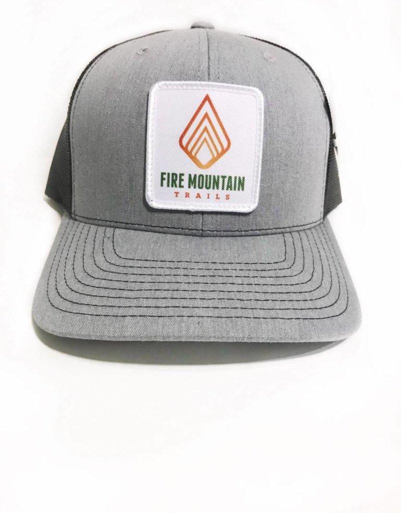 WEB SALES: Fire Mountain Snapback Ball Cap Gray & Black