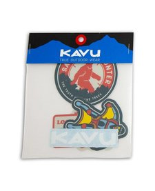 Kavu Scout Badges Sticker Pack
