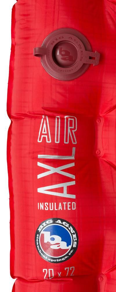 "Big Agnes Big Agnes Insulated AXL Air Sleeping Pad Mummy 20""x72"""